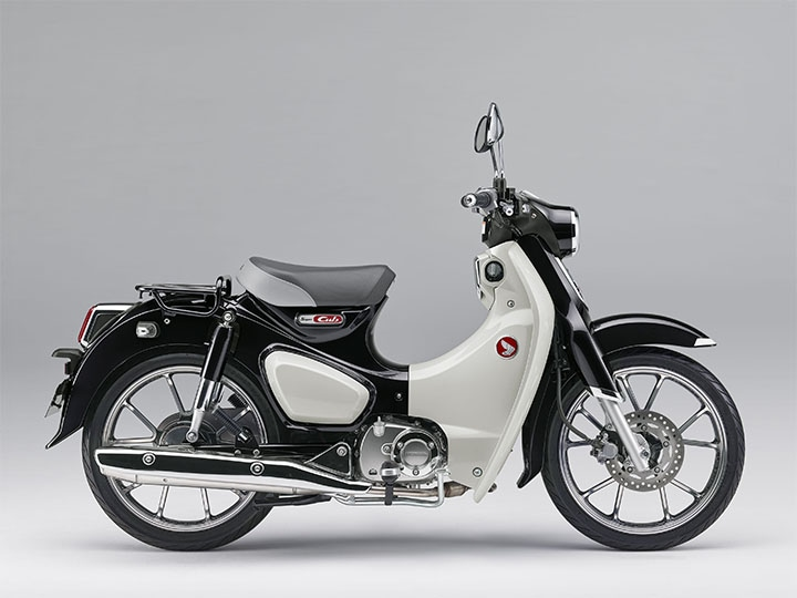 Honda(ホンダ) スーパーカブ C125に新色追加! あなたはどちらがお好き?