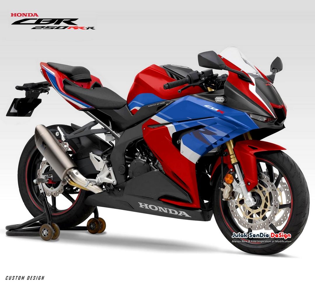 Honda(ホンダ)も250cc 4気筒を開発!と期待させるCBR250RR-Rデザイン予測が登場!