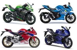 250cc国産フルカウルスポーツ比較まとめ! カワサキ ZX-25R? ホンダ CBR250RR? ヤマハ YZF-R25? スズキ ジクサーSF250?
