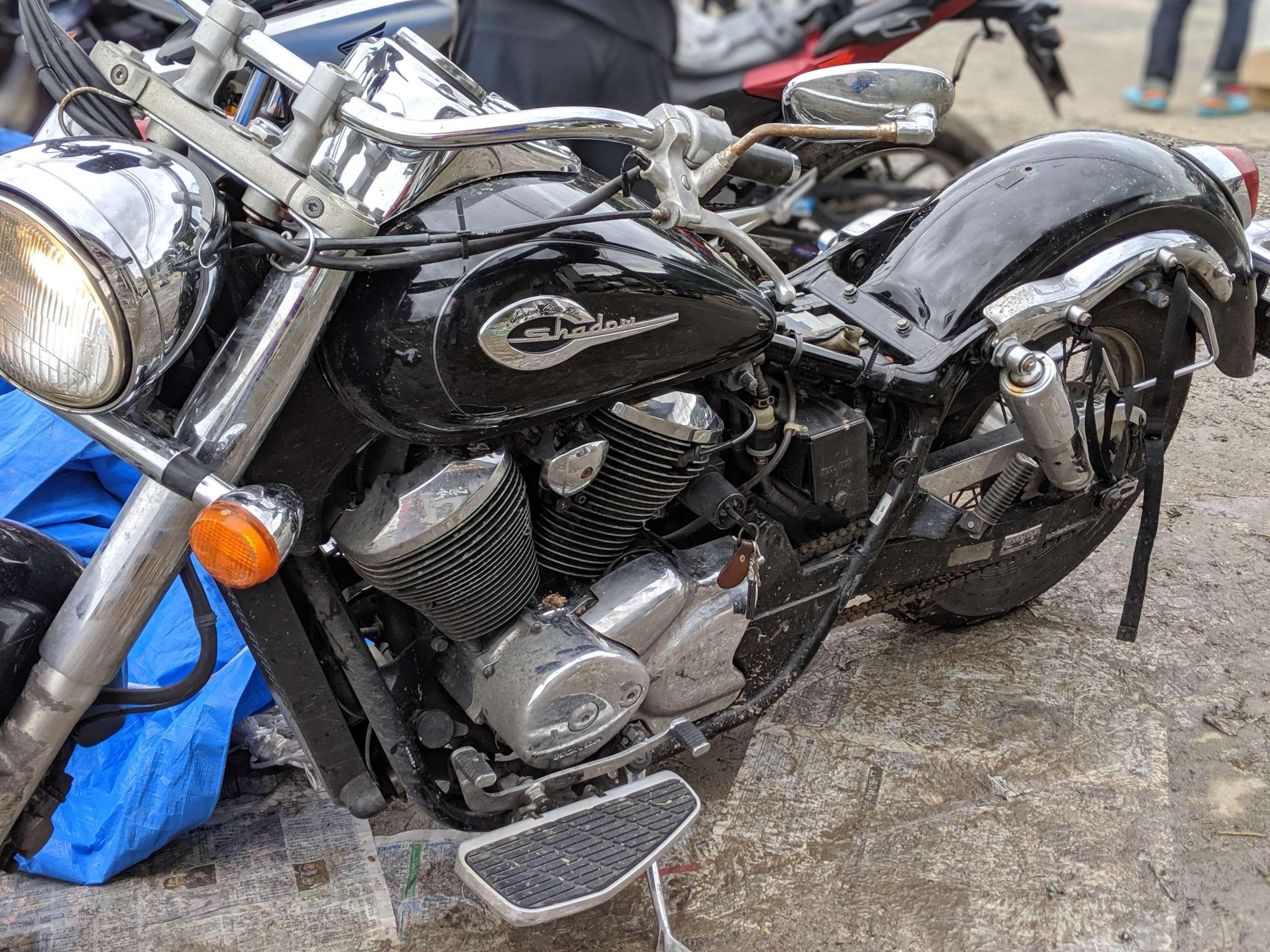 旅ライダーコニタンの「台風19号奮闘記」バイクが水没!後編