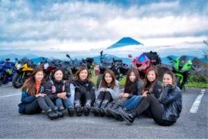 可愛いバイク女子♡関西teamとmeet day2♡西伊豆ツーリングおすすめの 写真スポット&ランチ情報