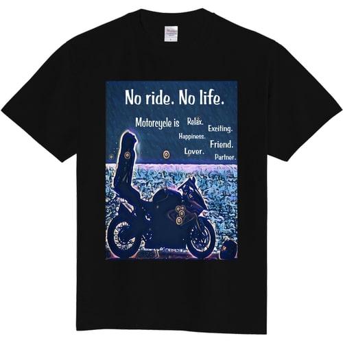 バイク女子おみつさんがデザインした利益全額寄付Tシャツ&ステッカー!!