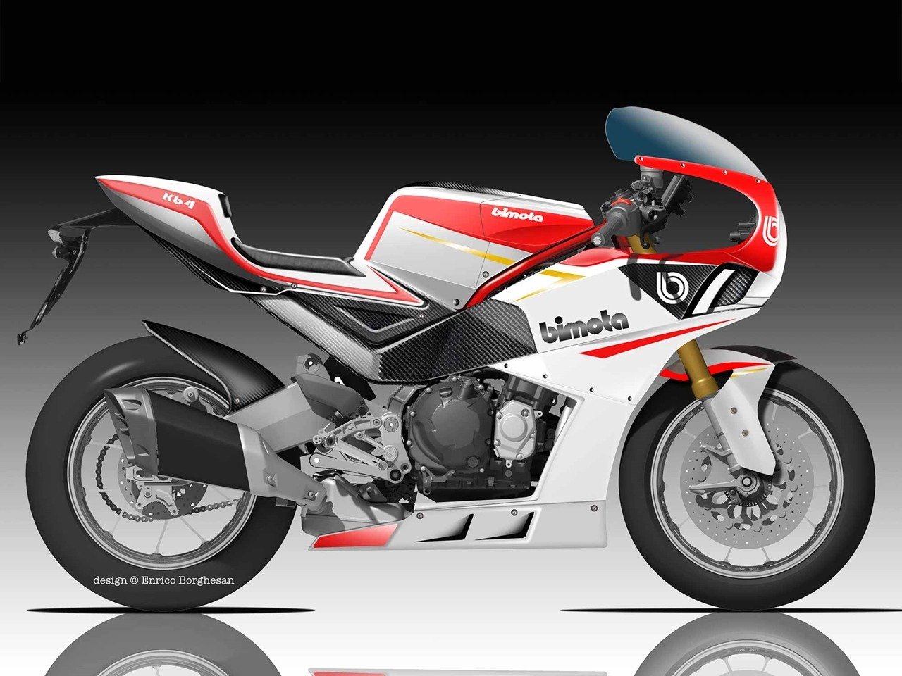 Kawasaki(カワサキ)エンジンのBimota(ビモータ) KB4がついに発売!