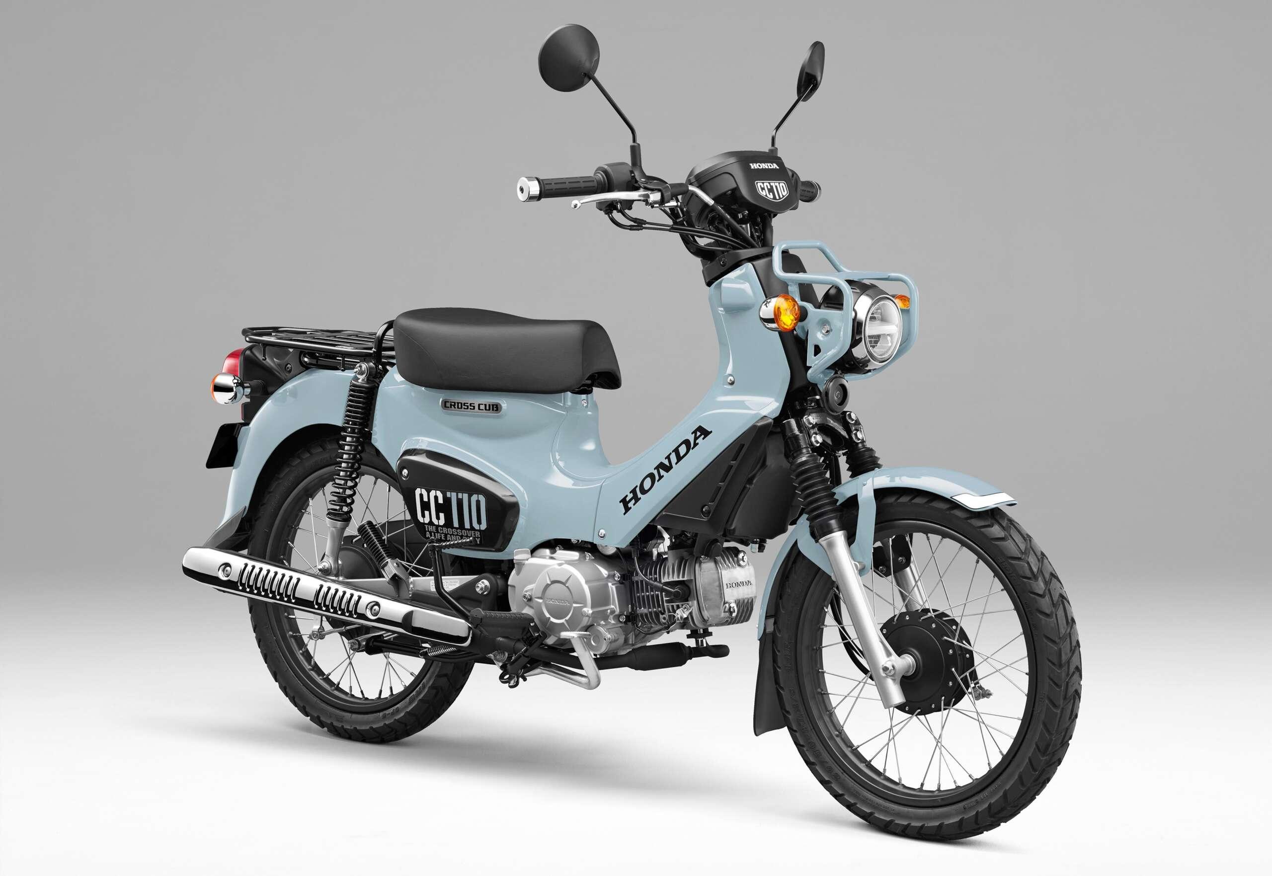 「クロスカブ110」に新たなカラーリングを採用し2000台限定で発売