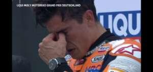 思わず涙。マルク・マルケス MOTO GPドイツグランプリで優勝!