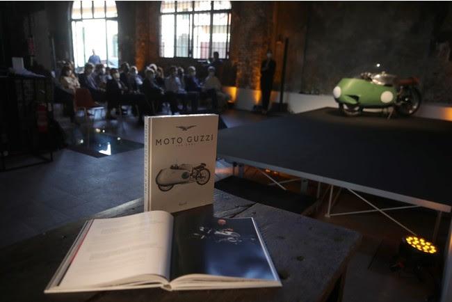 モト・グッツィ100年の歴史を10名の国際的な著名人が語る記念ブックレット「モト・グッツィ100 ANNI」をリッツォーリ社より出版