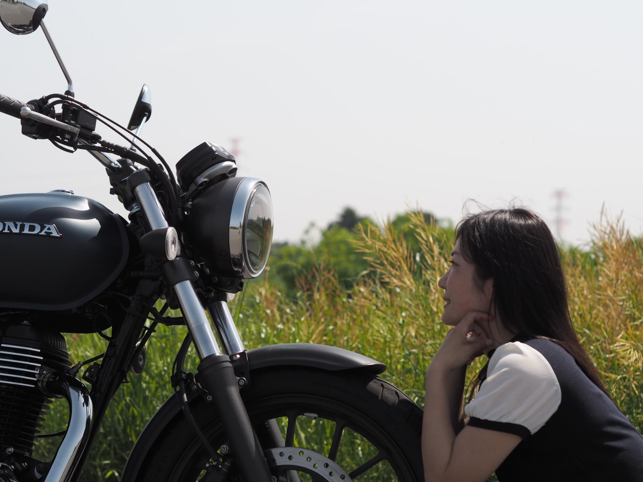 超人気!!!GB350試乗レポート 低身長バイク女子目線 乗って見た感想を主観でレポートします♪