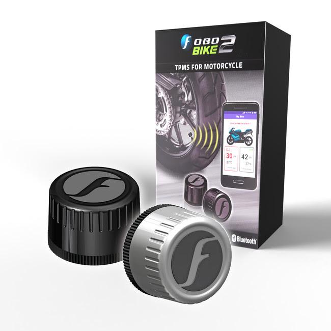 涼しい時期のツーリングに役立つタイヤ空気圧センサー「FOBOBIKE2(フォボバイク2)」が再入荷!
