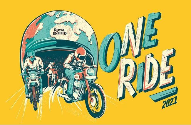 Royal Enfieldのモーターサイクルが世界各地で走り出す、「ONE RIDE 2021」 が新様式で開催